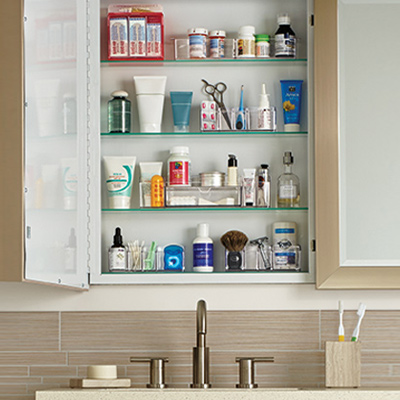 How To Organize Your Medicine Cabinet Ideas Amp Organization Tips The Container Store