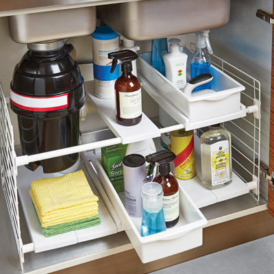 Kitchen Sink Organization Ideas-image