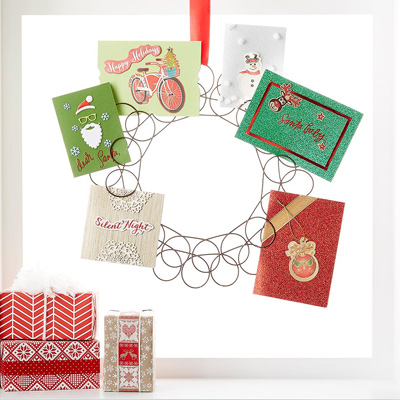 How to Organize Christmas Cards-image
