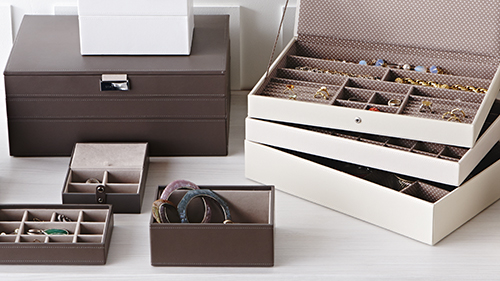 Mink Supersize Stackers Premium Stackable Jewelry Box The